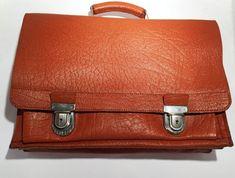 7608d43620946 Vintage Lehrer Tasche Aktentasche Deutschland 1960-er Сумки Для Учителей