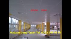 Trabzon Gergi Tavan | Trabzon Asma Tavan | Asma Tavan Modelleri | Trabzo...