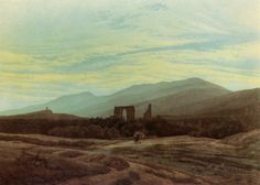Friedrich, Caspar David: Ruine im Riesengebirge (Ruine Eldena im Riesengebirge)