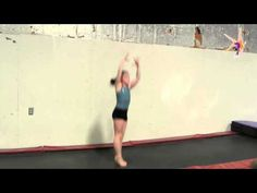 Quck Tip: Drill for turning gymnastics jumps