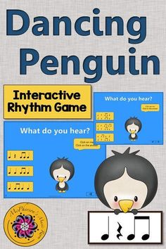 Rhythm Game! Your elementary music students will love this interactive game while aurally identifying rhythms. Perfect for kindergarten, first or second grade! Engaging lesson and activity for your Orff and Kodaly classes!