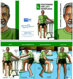 Stroke: Patient Education: Positioning for Left Hemiplegia or weakness