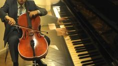 Kiss the rain - Yiruma- BY The Harmony Guys ( Piano & Cello ) Yet another amazing group!