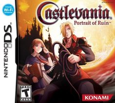 Castlevania: Portrait of Ruin, known in Japan as Akumajō Dracula: Gallery of Labyrinth, is a platform-adventure game developed and published by Konami. Released in 2006 Nintendo Ds, Nintendo Games, Nintendo Switch, Video Game Memes, Video Games, Cartoon Network, Jonathan And Charlotte, Playstation, Xbox