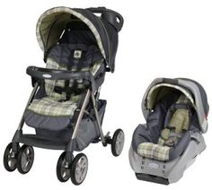 Baby Car Seat and Stroller Combo - Graco Alano Classic Connect Travel System, Roman. $159.00