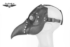 PLAGUE DOCTOR mask leather hand made steampunk by SteampunkMasks