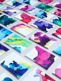 Wall art made simple--abstract color paintings