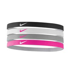 Nike Girls Assorted Headbands | Rebel Sport Intense Games, Nike Swoosh Logo, Nikes Girl, Sports Brands, Stretch Fabric, Rebel, Headbands, Your Hair, Under Armour