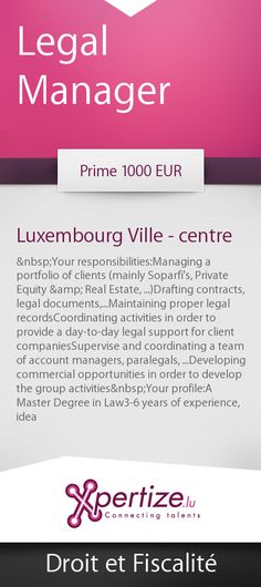 Legal Manager