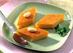 Gâteau de semoule au miel - très facile