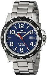 Timex Unisex T499259J  Expedition Rugged Silver-Tone Watch With Stainless Steel Bracelet