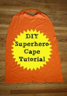 hello, Wonderful - 8 EASY DIY SUPERHERO CAPES