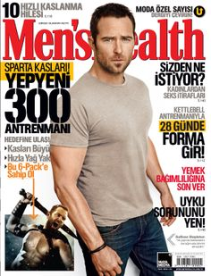 Men's Health 2014 Nisan sayısı.
