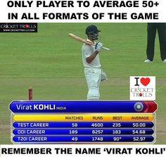 That's Virat Kohli for you! #SLvIND #1stTest For more cricket fun and updates click http://ift.tt/2gY9BIZ - http://ift.tt/1ZZ3e4d