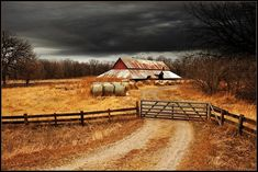 Country Barn in Iowa