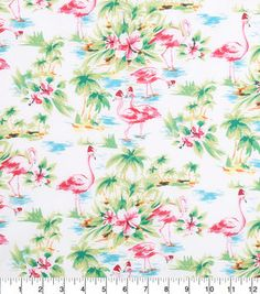 Keepsake Calico™ Holiday Cotton Fabric in Santa Hats, Sewing Pillows, Pillow Fabric, Cotton Fabric, Christmas Fabric, Winter Christmas, Christmas Crafts, Flamingo Fabric, Snowflake Pattern, Online Craft Store
