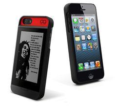 iphone case ebook reader.