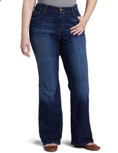 Levi's Women's Plus-Size 580 Bootcut Jean, Winding Road, 18-Medium  Go to the website to read more description.