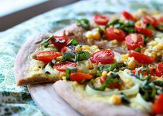 How I Live a Life Without Cheese. It really is possible! Take a look at these thoughts, ideas, and 50+ recipes for a dairy-free diet. Pictured: Vegan Summer Pizza with Sweet Corn, Cherry Tomatoes, and Fresh Basil from @kitchentreaty.