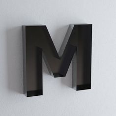 "Letter M Wall Decor wall hanging letters - ""t"" sign letter - wall decor letters"