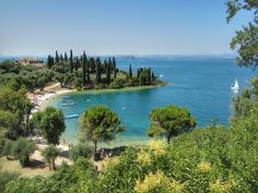The most beautiful beaches on Lake Garda Most Beautiful Beaches, Beautiful Places, Lake Garda Italy, Trip The Light Fantastic, Le Havre, Going On Holiday, Camping Life, France Travel, Holiday Destinations