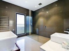 Fashionable brown bathroom pictures just on alexadecor home design