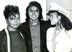 Janet, Michael and La Toya Jackson :) - Cuteness in black and white ღ by ⊰@carlamartinsmj⊱