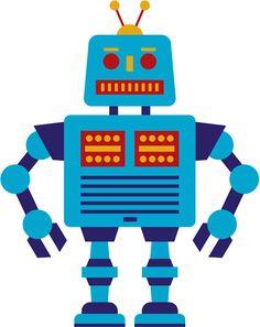 [フリーイラスト素材] クリップアート, ロボット, 機械, EPS ID:201402232100