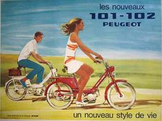 Peugeot bike advertisement