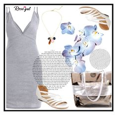 """""""Rosegal 50/II"""" by aazraa ❤ liked on Polyvore"""