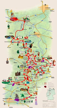 Germanys Fairy Tale Road - Visit the towns related to the tales of the Brothers Grimm.