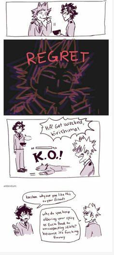 Boku No Hero Academia, My Hero Academia Memes, Hero Academia Characters, My Hero Academia Manga, Kirishima Eijirou, Be My Hero, Boko No, Funny Memes, Hilarious