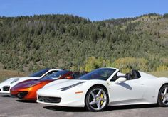 Cruise in one of these luxury sports cars with the Waldorf Astoria Driving Experiences offer.