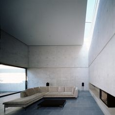Exposed concrete + light wells = love :)