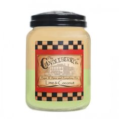 Candleberry 26 oz Large Cookie Jar Scented Candle