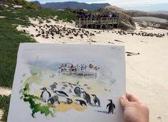 Jens Huebner- Southafrica, national park, penguins