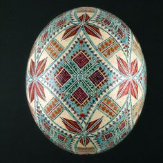 Pysanky Ukrainian Easter Egg Hand Decorated by JustEggsquisite, $280.00