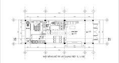 Công trình: Thiết kế nhà phố hiện đại Diện tích: 5x14m