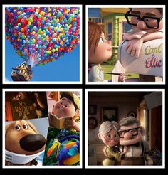 Pixar Film Up Inspired Coaster Set