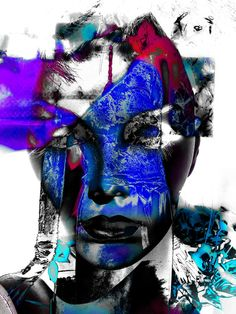Neu in meiner Galerie bei OhMyPrints: One face - two hands