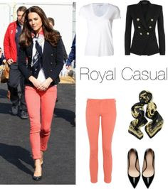 """""""Royal casual"""" by danzis-k on Polyvore"""