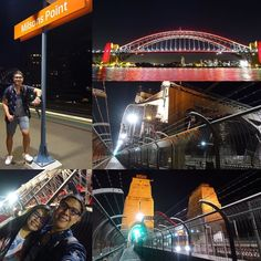 ATM: (12MN AUS time) After visitng Bondi and Manly beach we had the best walk from Circular Quay to Milsons point across Sydney's famous harbour bridge!! Achievement complete!  #sydney #australia #vacation #tourist #sydneyharbourbridge #milsonspoint #bridge #hike #nofilter by iamrolandyabao http://ift.tt/1NRMbNv