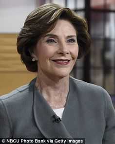 Laura Bush said she met with Senator Ted Kennedy immediately after she learned about the 9/11 terrorist attacks. She said he kept up a 'steady stream of small talk' and wondered if that was his way of coping