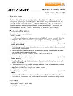 resume samples customer service jobs sample resumes - Customer Service Resumes Samples