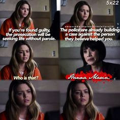 "#PLL 5x22 ""To Plea or Not to Plea"" - Ali and Rebecca"