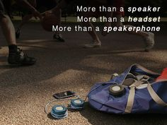 The MONOCLE: An All-In-One Boombox, Headset & Speakerphone - Bring Versatile Sound & Style Anywhere You Go