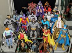 Batman and Friends - Prodigeek's Action Figure Collection