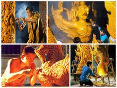 Candle Festivals in Thailand