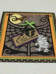 halloween cards pinterest | Card Making / Halloween card