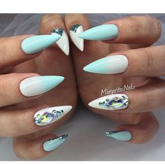 nails inspo @margaritasnailz #FCmails by fashionclimaxx2